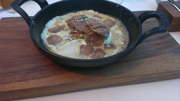 Pheasant egg & truffles