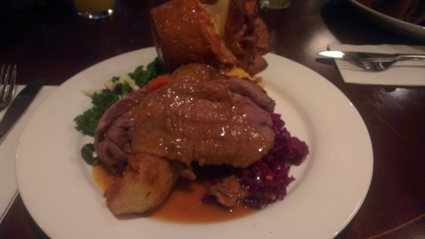 Larwood and Voce - Beef Sunday Lunch