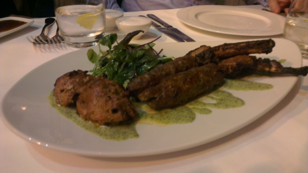 Tandoori Lamb Platter (for two)