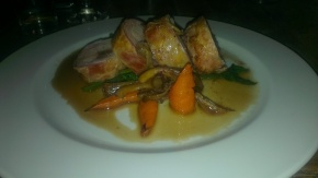 Rabbit stuffed with black pudding - Larder on Goosegate