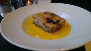Brioche Butter Pudding - Browns  -Yellow and Dangerous