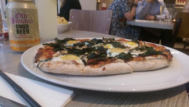 Nicoise Pizza