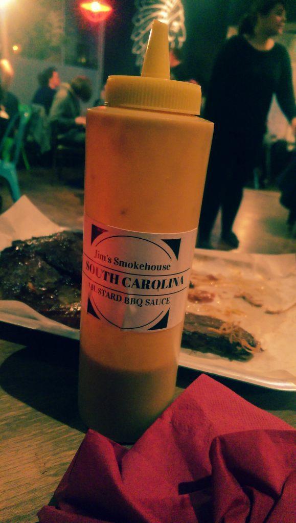 Jim's Mustard BBQ Sauce
