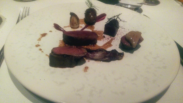 The Ledbury - London - Water Deer, Beetroot & Bone Marrow
