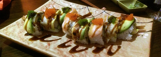 Dragon Roll - Manga Sushi - Nottingham