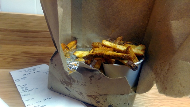 Cajun Fries - Five Guys - Nottingham