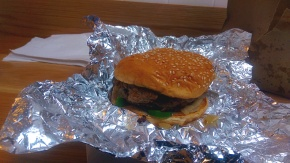 Hamburger - Five Guys - Nottingham