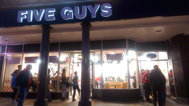 Five Guys - Nottingham