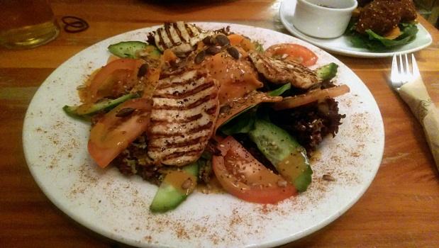 Halloumi Salad - Alley Cafe - Nottingham