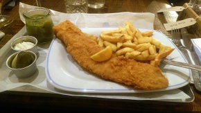 Fish and Chips - George's - Nottingham