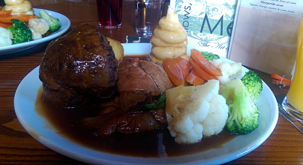 Sunday Roast - Fellows Morton & Clayton - Nottingham