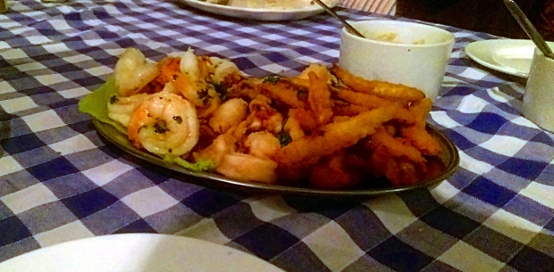 Fish Platter - Eviva Taverna - Nottingham