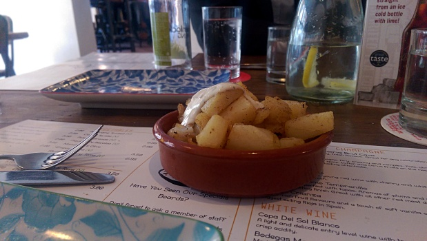 Patatas Bravas - The Tapastry - Nottingham