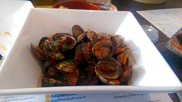 Clams with Serrano ham- The Tapastry - Nottingham