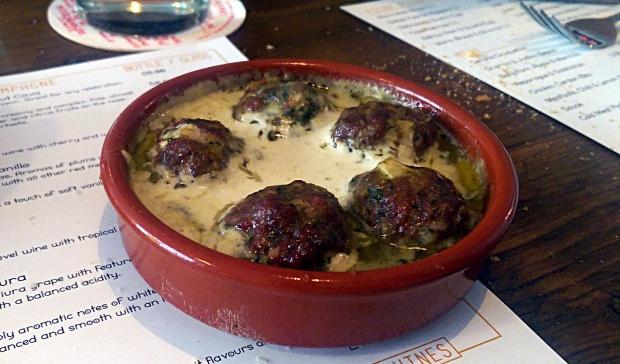 Meatballs - The Tapastry - Nottingham