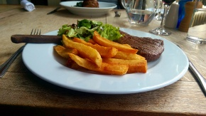 Steak & Chips - Larder on Goosegate - Nottingham