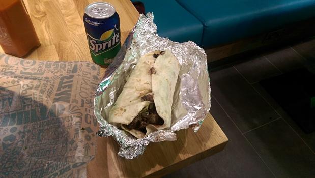 Steak Burrito - Tortilla - Nottingham
