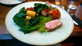 Pork with South Indian Spices - The Clove Club - London