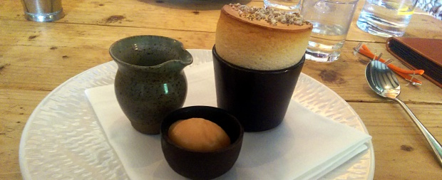 Soufflé - The Hand & Flowers - Marlow