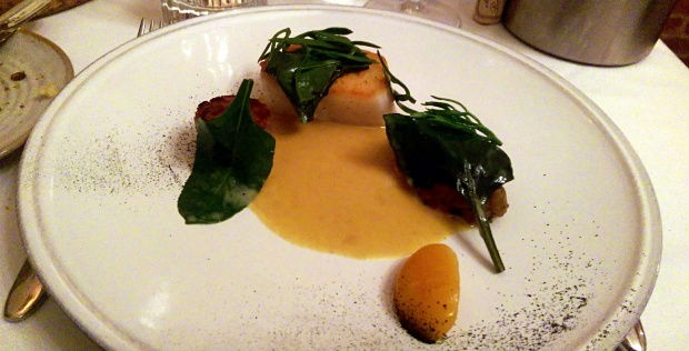 Cod, Curry, Passion fruit - John's House - Mountsorrel