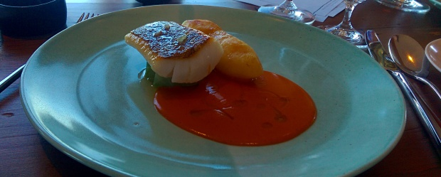 Cod with Porthilly Sauce - Restaurant Nathan Outlaw - Cornwall