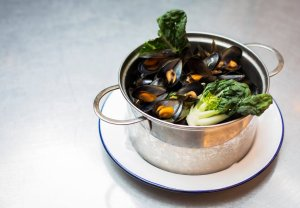 Moules from Belgo - @belgorestaurant