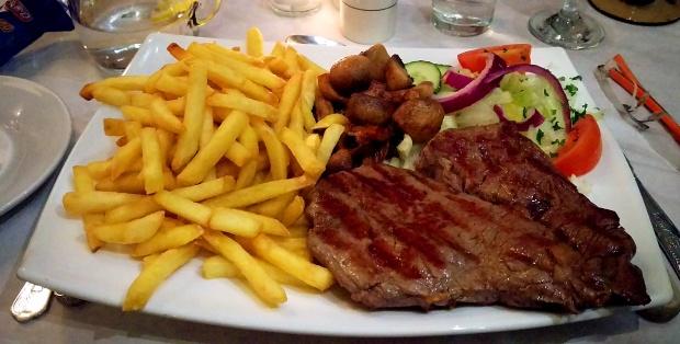 Steak - Gino's - Nottingham