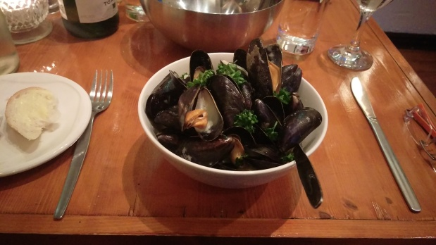 Moules Marinière - The Lobster Pot - Nottingham
