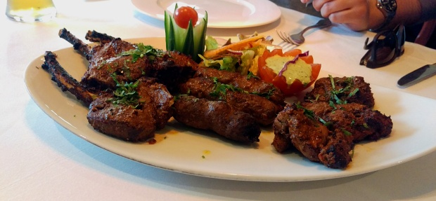 Lamb Platter - Calcutta Club - Nottingham