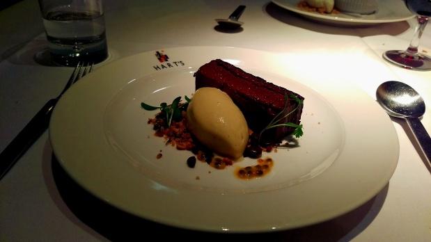 Chocolate Parfait - Hart's - Nottingham