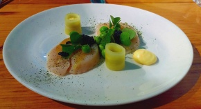 Scallop, Elderflower, Caviar - Alex Bond - Nottingham