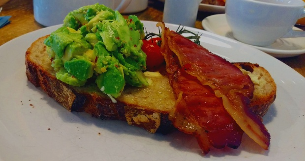 Avocado & Bacon - Toast - Nottingham