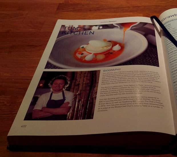 Tom Kitchen in the Great British Cookbook
