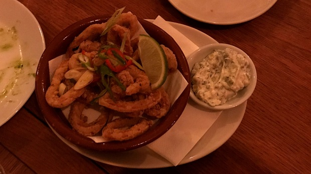 Calamari - The Frustrated Chef - Nottingham (Beeston)