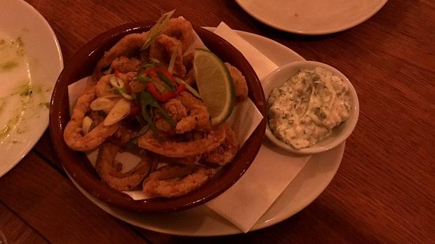 Calamari - The Frustrated Chef - Nottingham (Beeston)