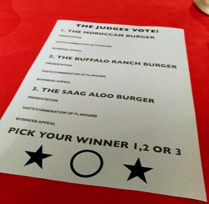 The Judge's Task - Annie's Burger Shack - Nottingham