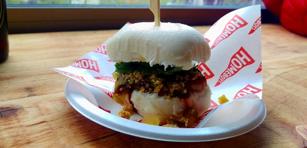 Pork Belly Bao - Homeboy - Nottingham Street Food Club