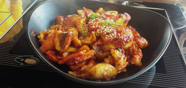 Stir Fried Squid - Korea House - Nottingham (Beeston)