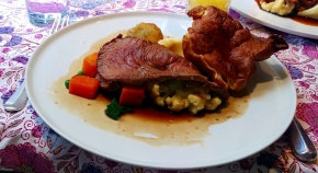 Roast Beef - Langar Hall - Nottinghamshire