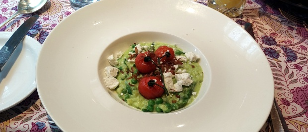 Risotto - Langar Hall - Nottinghamshire