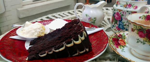 Chocolate Cake - White Rabbit - Nottingham