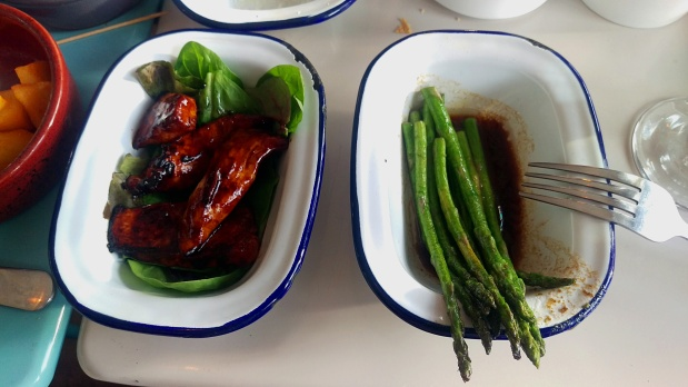 Marinated chicken and asparagus - Barrio - Nottingham (Sherwood)