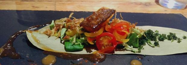 Sea Bass - Edward's Canteen Kitchen - Nottingham (Beeston)