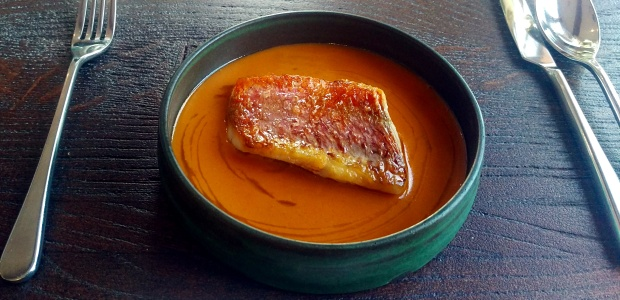 Red Mullet and Porthilly Sauce - Nathan Outlaw - Cornwall