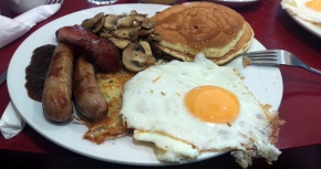 Breakfast at Warsaw Diner - Nottingham