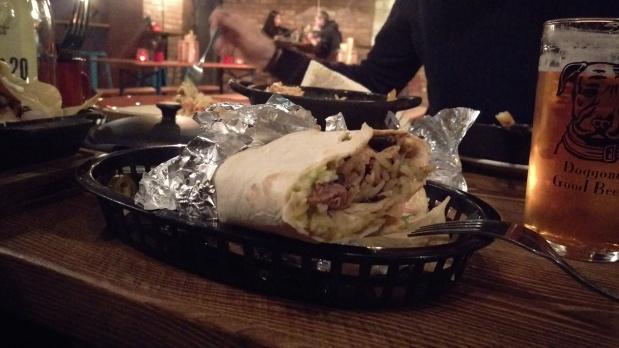 Beef Burrito - El Capo - Nottingham