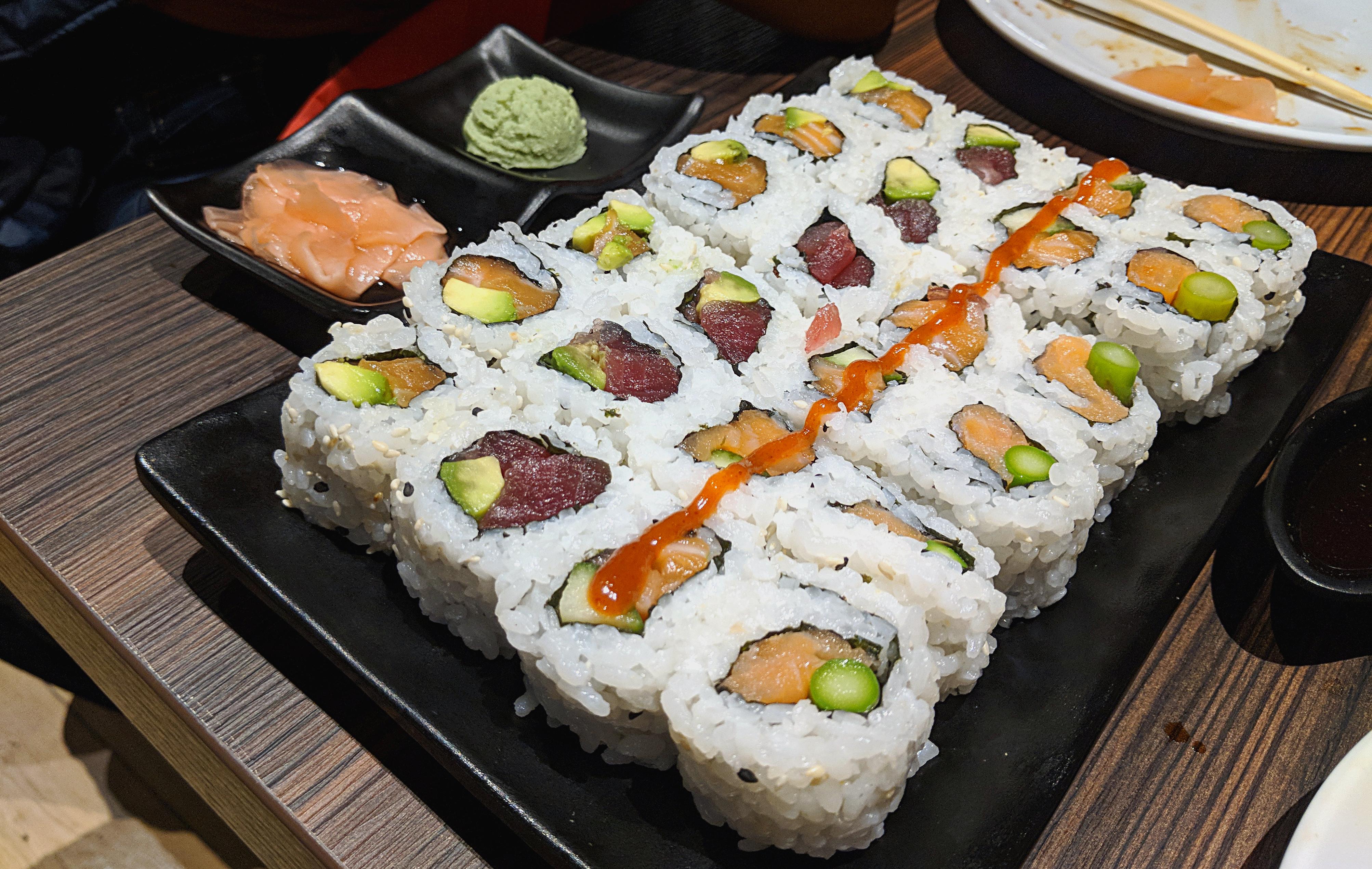Sushimania Japanese Nottingham Frusher On Food A