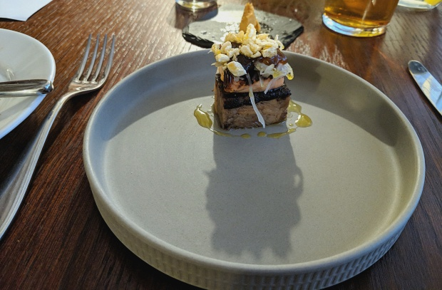 Pigs Head and Salmon - The Black Bull - Blidworth
