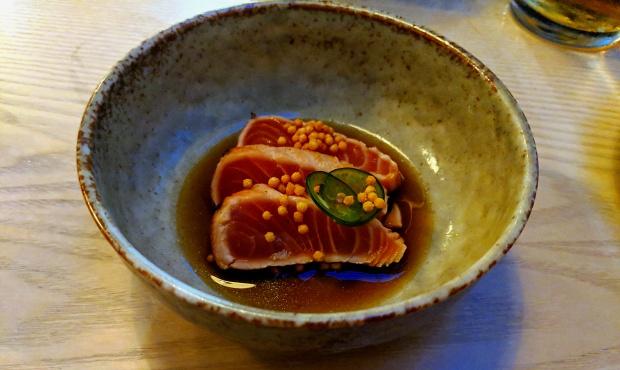 Salmon Tataki - Kushi-Ya - Nottingham