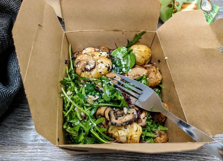 """Potato & """"Chicken"""" salad - No 12 Houndsgate"""
